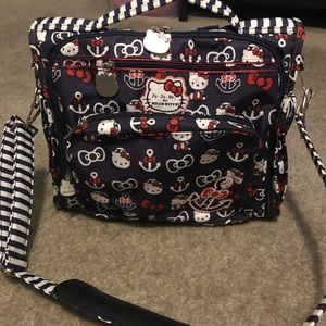 Jujube x hello kitty our to sea diaper bag